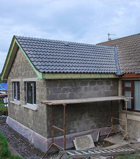 Construction d'extension de bâtiment Arras
