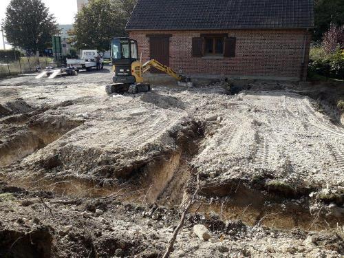 Terrassement et fondations près d'Arras