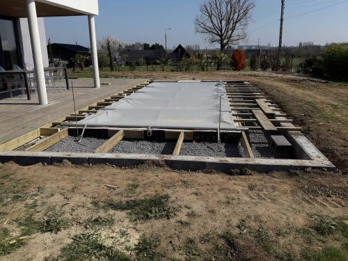 Travaux de construction pour aménagement extérieur Roncq